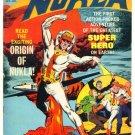 NUKLA #1 Dell Comics 1965 Superhero Atom Bomb Cover