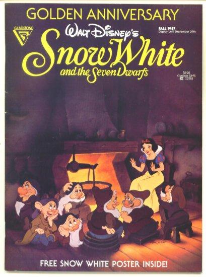 SNOW WHITE and the SEVEN DWARFS Golden Anniversary Gladstone Comics 1987 Walt Disney