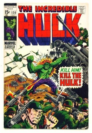 The INCREDIBLE HULK #120 Marvel Comics 1969