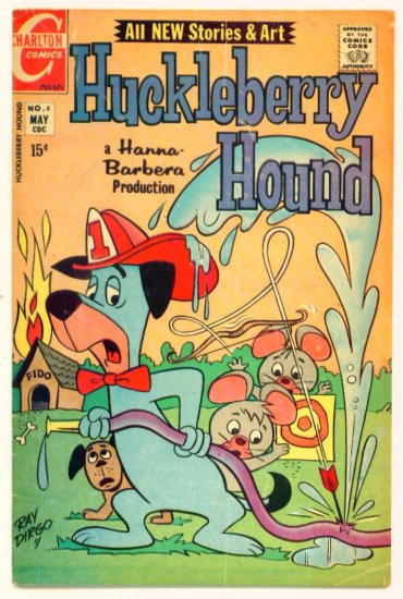 HUCKLEBERRY HOUND #4 Charlton Comics 1971 Hanna-Barbera