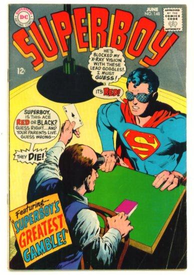 SUPERBOY #148 DC Comics 1968 Krypto the Superdog