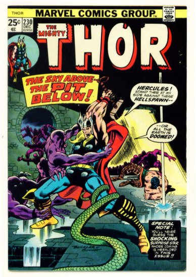 THE MIGHTY THOR #230 Marvel Comics 1974
