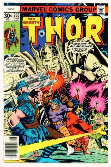 THE MIGHTY THOR #260 Marvel Comics 1977