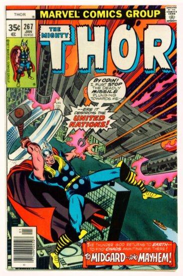 THE MIGHTY THOR #267 Marvel Comics 1978