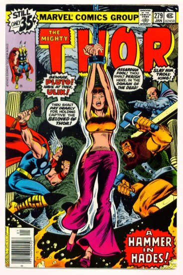 THE MIGHTY THOR #279 Marvel Comics 1979