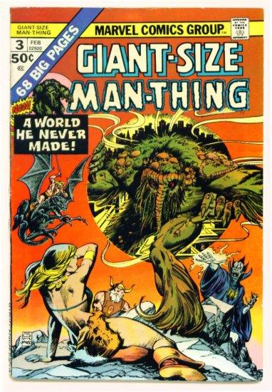MAN-THING GIANT SIZE #3 Marvel Comics 1975