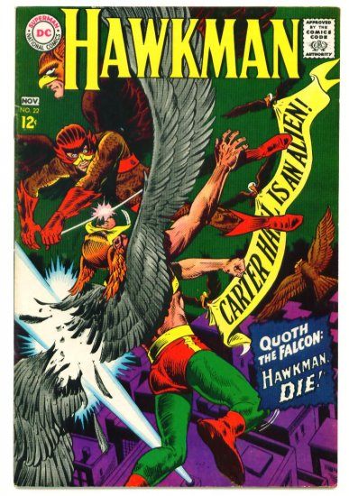 HAWKMAN #22 DC Comics 1967