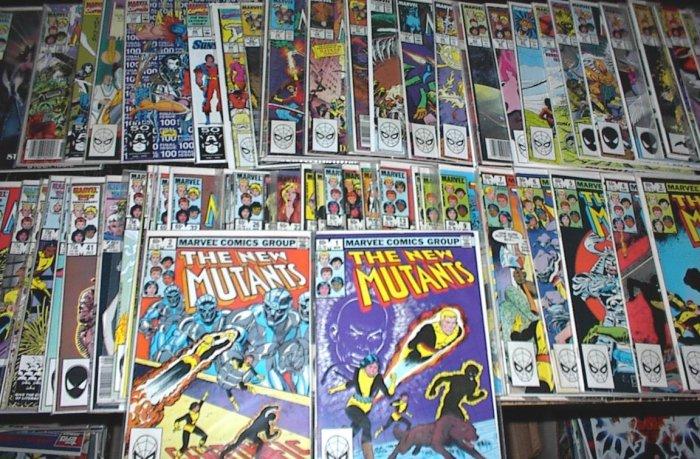 NEW MUTANTS Lot of 79 Marvel Comics #1 - #100 X-MEN