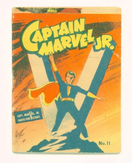 CAPTAIN MARVEL JR #11 Mighty Midget Comics 1942