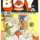 BOY COMICS ILLUSTORIES #44 Lev Gleason 1949 Crimebuster