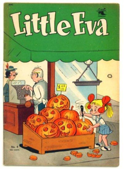 LITTLE EVA #4 St. John Comics 1952