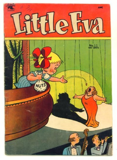 LITTLE EVA #11 St. John Comics 1953