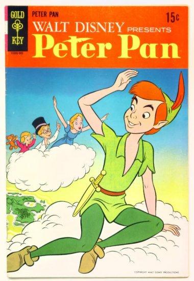 PETER PAN #1 Gold Key Comics 1969 Walt Disney