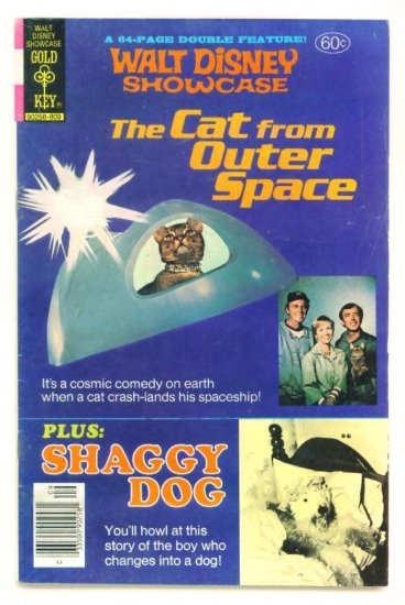 The CAT FROM OUTER SPACE Gold Key Comics 1978 Walt Disney