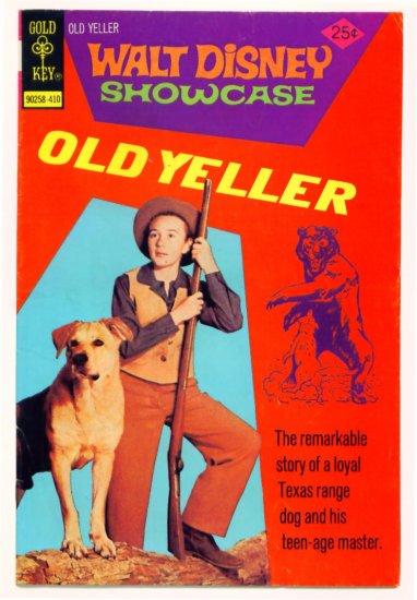 OLD YELLER Gold Key Comics Walt Disney Showcase #25