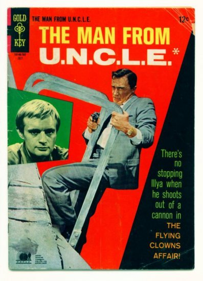 The MAN FROM UNCLE #13 Gold Key Comics 1967