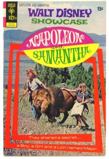NAPOLEON & SAMANTHA Gold Key Comics 1972 Walt Disney Jodie Foster