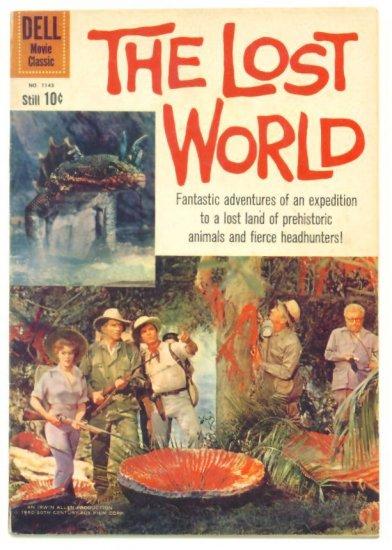The LOST WORLD Dell Movie Comics 1960 Photo Cover