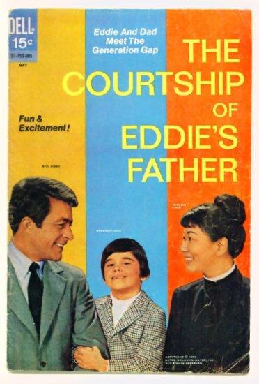 The COURTSHIP of EDDIE'S FATHER #2 Dell TV Comics 1970