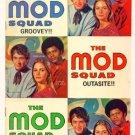 The MOD SQUAD #3 Dell Comics 1969 Photo Cover