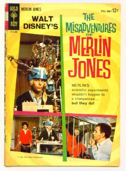 MISADVENTURES of MERLIN JONES #1 Gold Key Comics 1964 Walt Disney