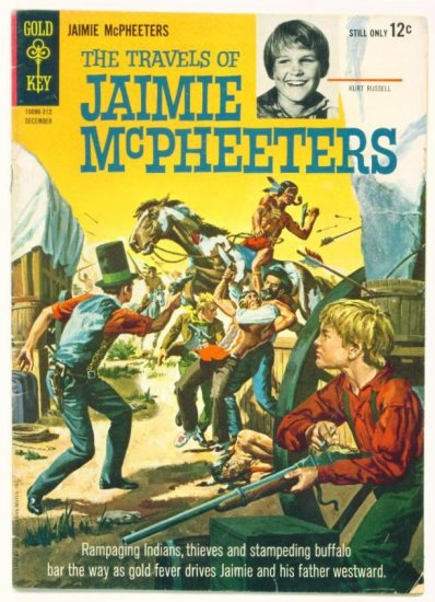 JAMIE McPHEETERS #1 Gold Key Comics 1963 Kurt Russell