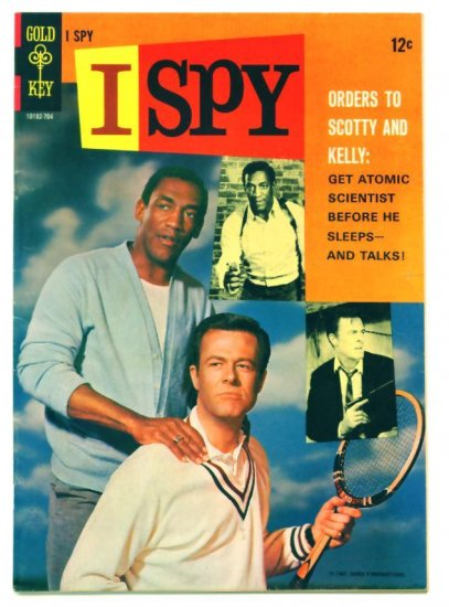I SPY #2 Gold Key Comics 1966 Photo Cover Bill Cosby