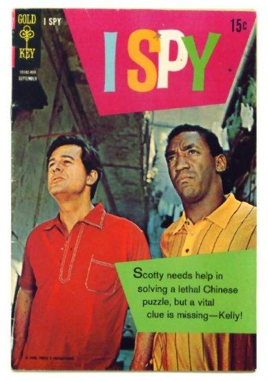 I SPY #6 Gold Key Comics 1968 Robert Culp Bill Cosby