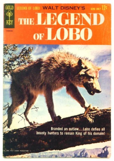 The LEGEND of LOBO #1 Gold Key Comics 1962 Walt Disney
