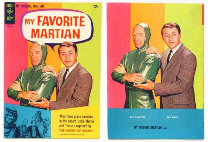 MY FAVORITE MARTIAN #5 Gold Key Comics 1965 Photo Cover