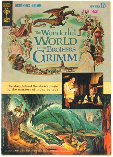 WONDERFUL WORLD of BROTHERS GRIMM #1 Gold Key Comics 1962