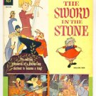 SWORD in the STONE Gold Key Comics 1963 GIANT WALT DISNEY