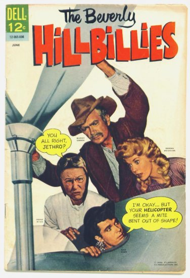 The BEVERLY HILLBILLIES #13 Dell Comics 1966 Photo Cover