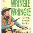 WRINGLE WRANGLE Dell Comics 1956 Fess Parker Walt Disney Western