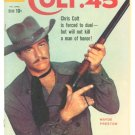 COLT 45 #4 Dell Comics 1960 Wayde Preston TV Western