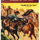 ZANE GREY'S STORIES of the WEST #34 Dell Comics 1957 VERY FINE