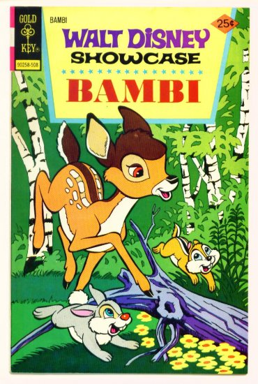 BAMBI Gold Key Comics 1975 Walt Disney Showcase #31