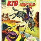 RAWHIDE KID #67 Marvel Comics 1968 Western