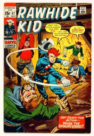 RAWHIDE KID #87 Marvel Comics 1971