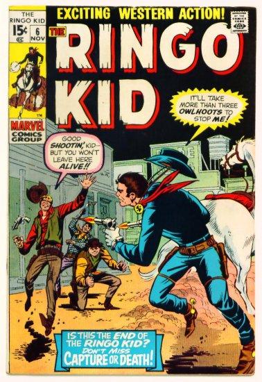 RINGO KID #6 Marvel Comics 1970 Western
