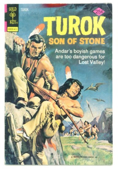 TUROK Son of Stone #93 Gold Key Comics 1974