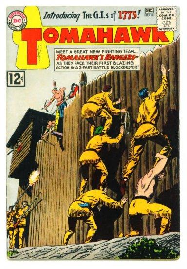 TOMAHAWK #83 DC Comics 1962