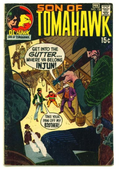 TOMAHAWK #132 DC Comics 1971 Frank Thorne
