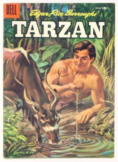 TARZAN #78 Dell Comics 1956