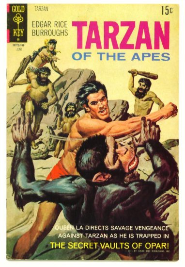 TARZAN #200 Gold Key Comics 1971