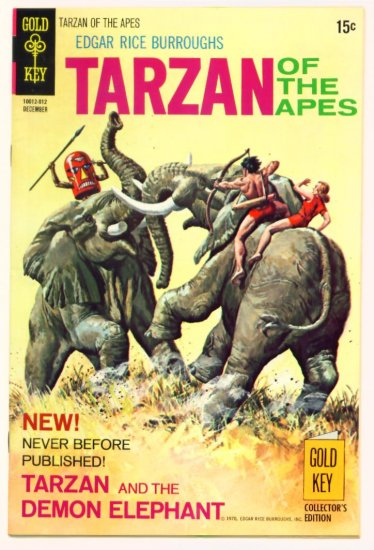 TARZAN #197 Gold Key Comics 1970 FINE +