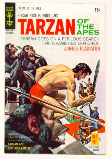 TARZAN #195 Gold Key Comics 1970 LEOPARD GIRL FINE +