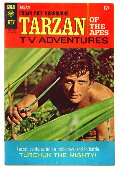 TARZAN #171 Gold Key Comics 1967 Ron Ely Photo Cover