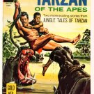 TARZAN #170 Gold Key Comics 1967 LEOPARD GIRL VF