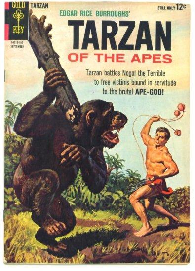 TARZAN #145 Gold Key Comics 1964